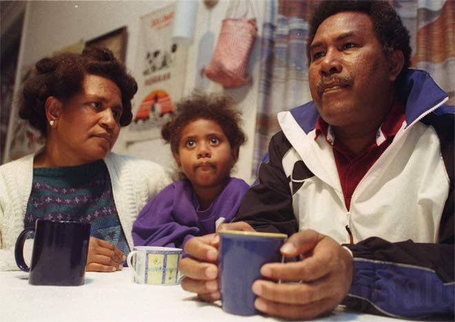 Waiting for news of the Solomons, 2000