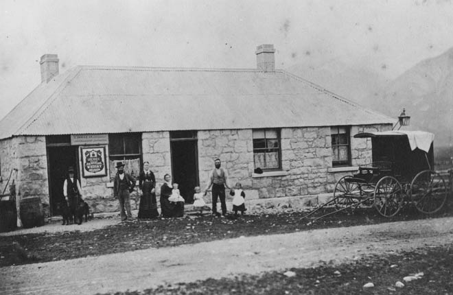 Castle Hill Hotel, 1879