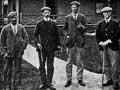 Amateur golf championship, Dunedin, 1908
