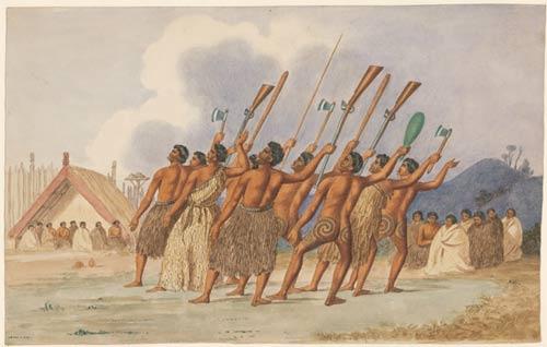Te whakamahi ngutu pārera i te wā haka