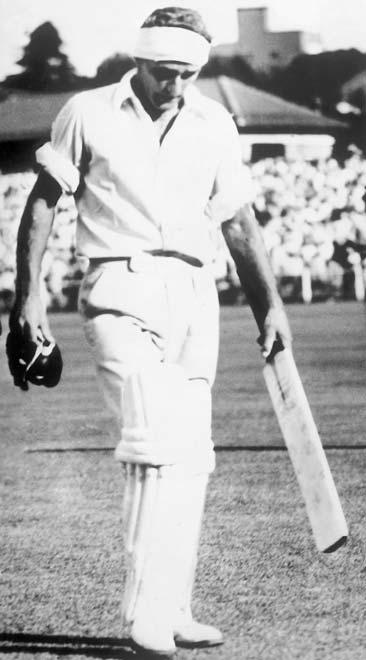 Bert Sutcliffe at Ellis Park, Johannesburg, 1953