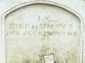 Grave at Erebus Cove