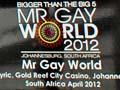 Andy Derleth, Mr Gay World 2012