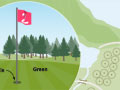 Golf course features