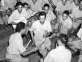 Māori soldiers play ti rākau, Cairo, 1941