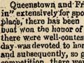 Central Otago sports, 1863