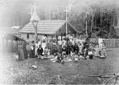 Māori sabbath observance, Opanaki, 1880s