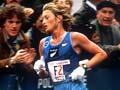 Allison Roe in the New York Marathon, 1981