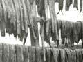 Drying eels, 1936