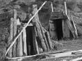 Kūmara storage pits, 1930