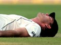 Physio on the cricket field