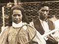 Ngā kaitākaro tēnehi Māori