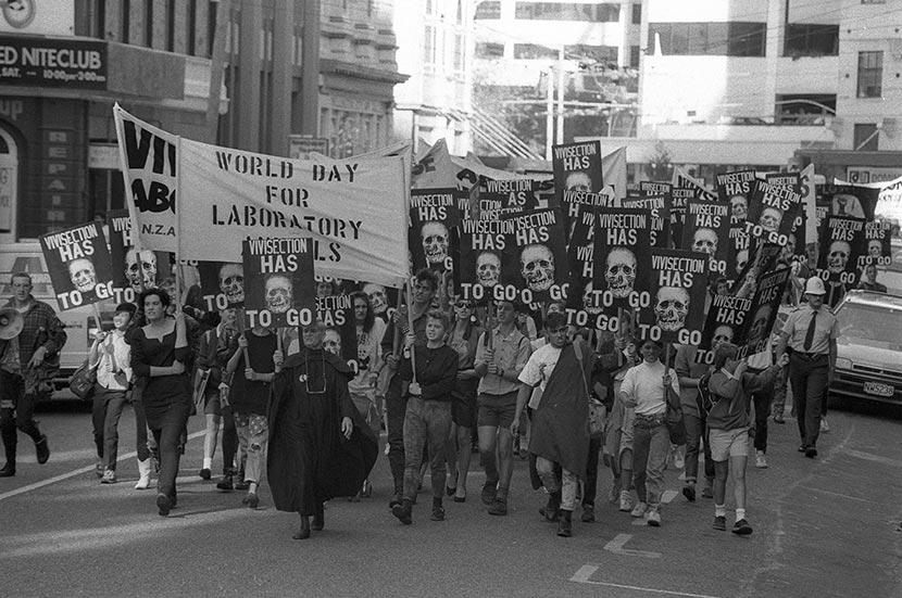 Anti-vivisection march