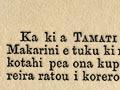 Te reta a Apanui rāua ko Toihau ki a Te Mākarini