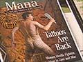 Derek Fox and Mana magazine
