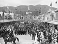 Golden jubilee procession, Nelson, 1887