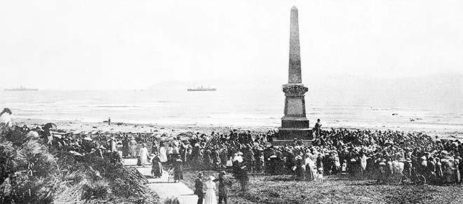 Cook anniversary commemoration, 1919