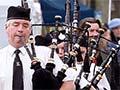 Grand Parade at the Waipū Highland Games, 2012