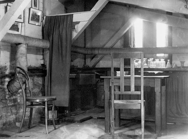 Rutherford's basement 'laboratory', Canterbury College