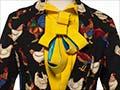 WORLD 'Chicken' suit, 2001