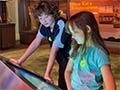 Rotorua Museum exhibition