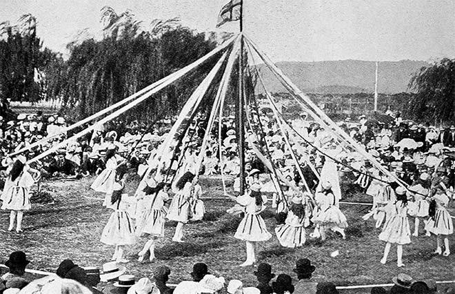 English maypole dance