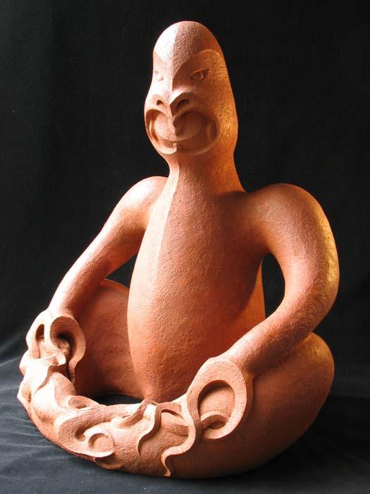 Manos Nathan's 'Whakapakoko III'