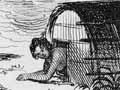 He pā Māori, i te tau 1840