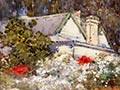 Margaret Stoddart, 'Old homestead, Diamond Harbour'