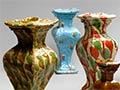Richard Parker vases