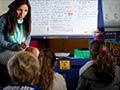 French teacher Elisabeth Diaz, Richmond Road School, 2013