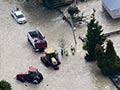 Residents evacuate flooded Edgecumbe, 2017