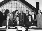 First meeting of the Māori Education Foundation at Parliament Buildings, 1961