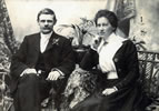 Edmund Anscombe and his wife