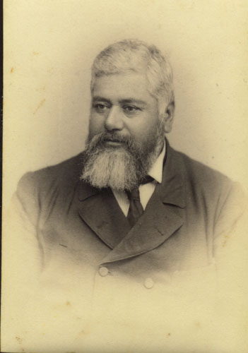 Edward Francis Harris, whose lifelong search for identity finally secured him a place in both Maori and Pakeha society