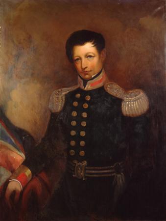 Portrait of William Hobson by James Ingram McDonald