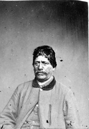 Wiremu Tako Ngatata, about 1870