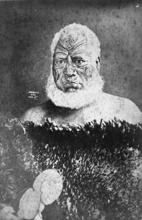 Ngatuere Tawhirimatea Tawhao, about 1875