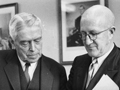 Arnold Nordmeyer and Walter Nash