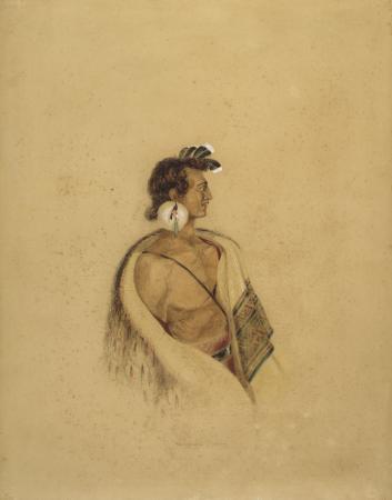 Te Rangihaeata painted by Charles Heaphy