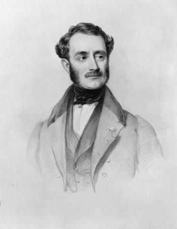 Etching of Joseph Thomas