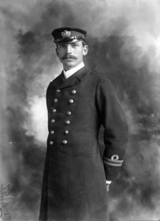 Frank Arthur Worsley, July 1903
