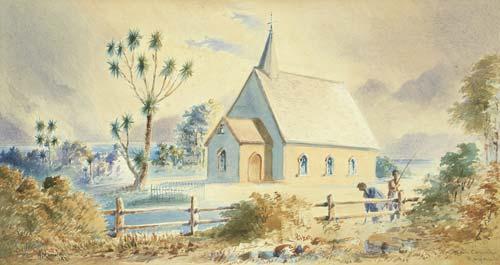 Rāpaki Māori church