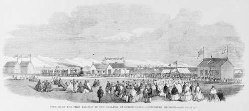 New Zealand's first public railway