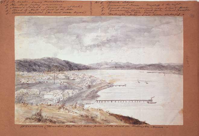 Thorndon, 1850s