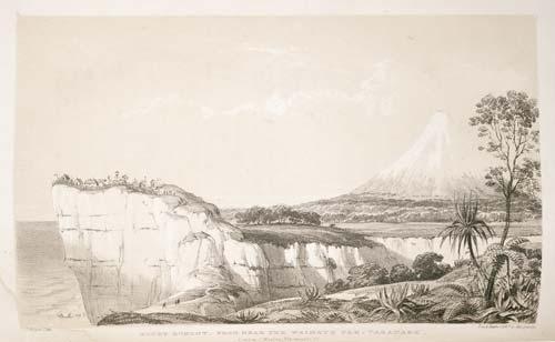 Mt Taranaki from Waimate pā