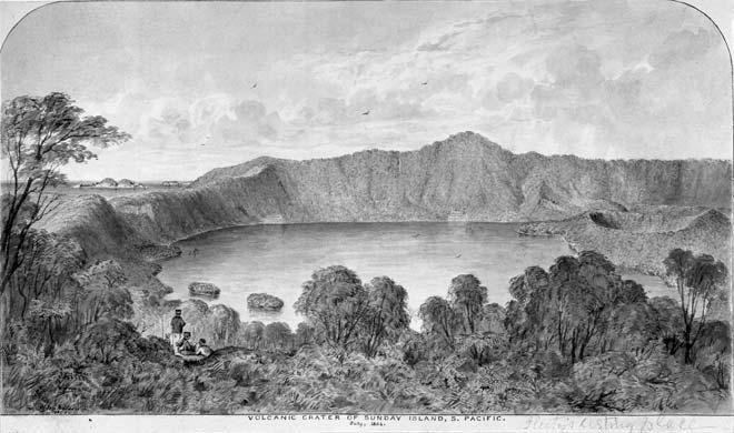 Raoul Island caldera