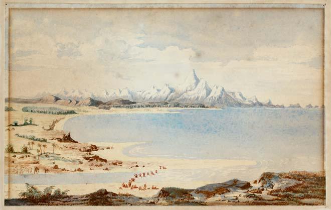 Arahura River mouth, 1846