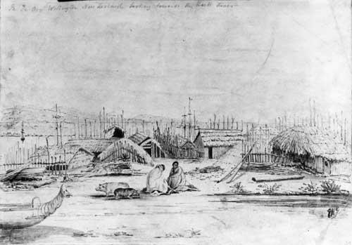 Te Aro, 1840