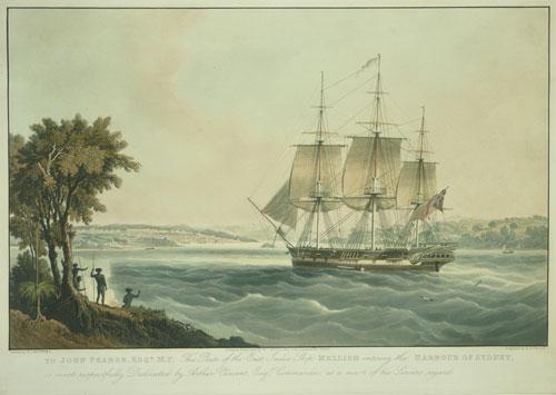 The Mellish entering Sydney Harbour